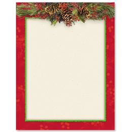 Christmas Swag Border Papers
