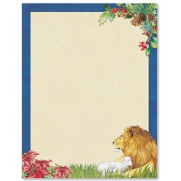 Lion and Lamb Border Papers