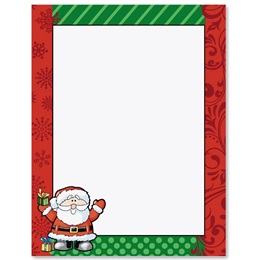 Little St Nick Border Papers
