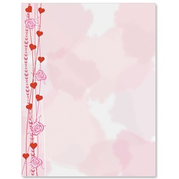 Shades Of Pink Border Papers