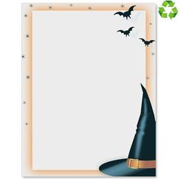 Witch's Hat Border Paper