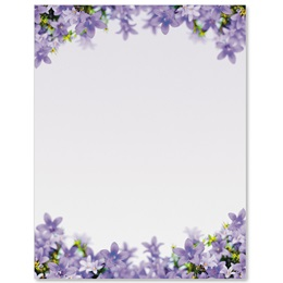 Purple Parade Border Papers