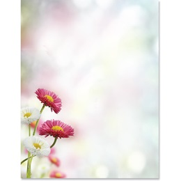 Blooming Spring Border Papers