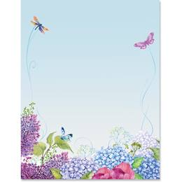 Butterfly Medley Border Papers
