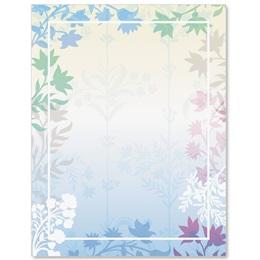 Fresh Petals Border Papers