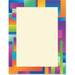 Colorful Border Papers