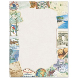 Vacation Border Papers