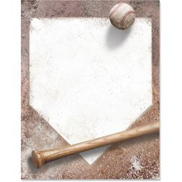 Home Plate Border Papers