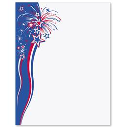 Festive Fireworks Border Papers