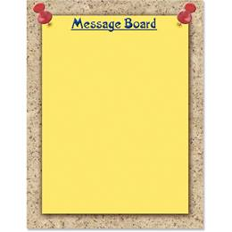 Message Board Border Papers