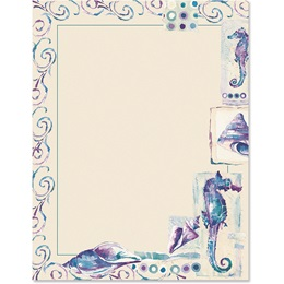 Seahorses Border Papers