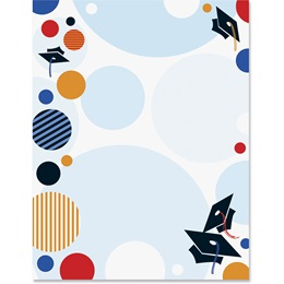 Festive Graduation Border Papers