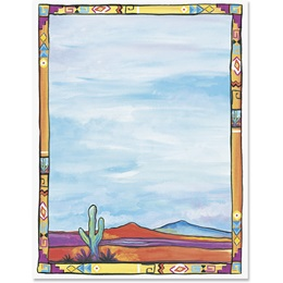 Western Sky Border Papers