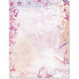 Butterfly Paradise Border Papers