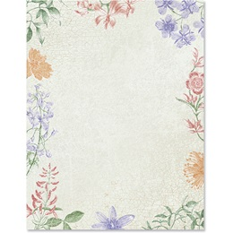 Botanical Border Papers