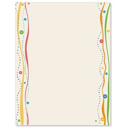 Party Sparkle Border Papers