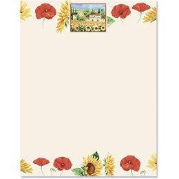 Tuscan Sun Border Papers