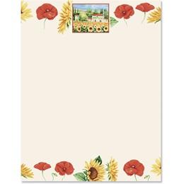 Tuscan Sun Border Papers