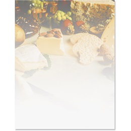 Wine and Cheese Border Papers