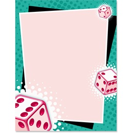 Bunko Party Border Papers