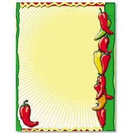 Hot N Spicy Border Papers