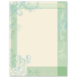 Floral Elegance Border Papers