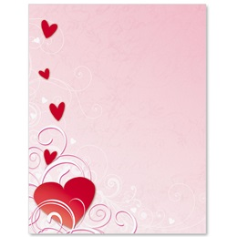 Pink Magic Border Papers