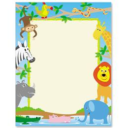 Zoo Crew Border Papers