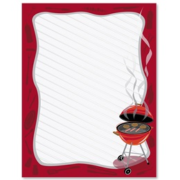 Grillin' Border Papers