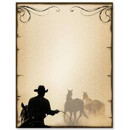 Saddle Up Border Papers