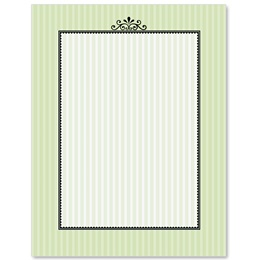Garden Gate Border Papers