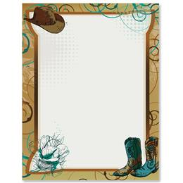 Dusty Boots Border Papers