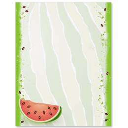 Watermelon Party Border Papers