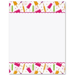 Summer Pops Border Papers