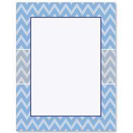 Chevron Border Papers