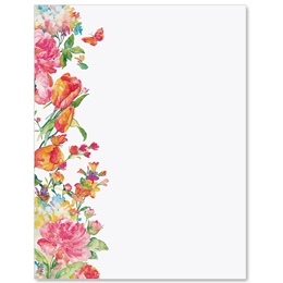 Pretty Petals Border Papers