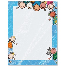 Child's Play Border Papers