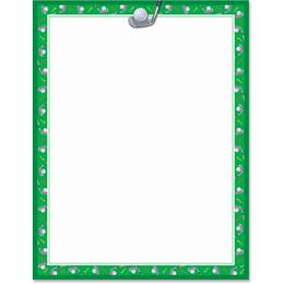 Chip Shot Border Papers