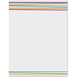 Uptown Brights Border Papers