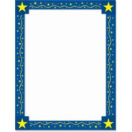 Classic Star Border Papers
