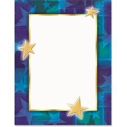 Star Bright Border Papers