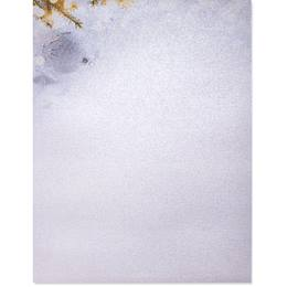 Frosted Dazzle Border Paper - Pearl Shimmer