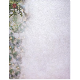 Crystal Brilliance Border Paper - Pearl Shimmer