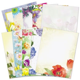 Floral Border Papers Variety Pack