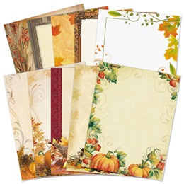 Fall Border Papers Variety Pack