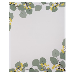 Green Leaves Border Papers
