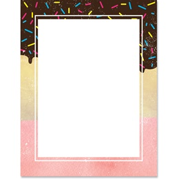 With Sprinkles Border Papers