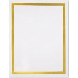 Pristine Gold Specialty Border Paper