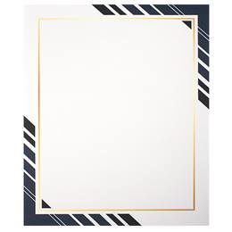 Multi Blue Business Border Papers