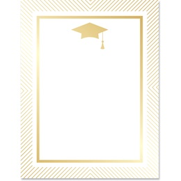 Golden Grad Border Papers
